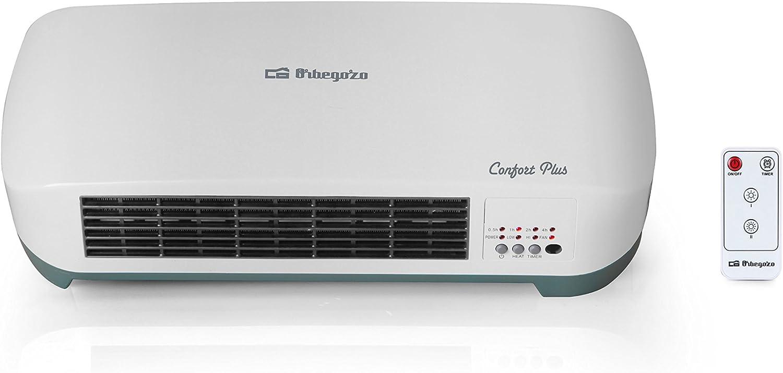 Calefactor de baño Orbegozo SP 5026, con mando a distancia