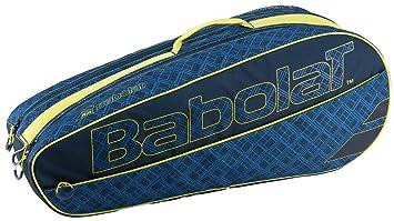 Babolat X 6 Club Fundas para Raquetas de Tenis, Unisex Adulto, Azul/Amarillo