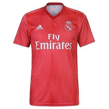 adidas Real Madrid Third - Camiseta de fútbol para Hombre, Color Real Coral, Vivid Red (Talla S): Amazon.es: Deportes y aire libre