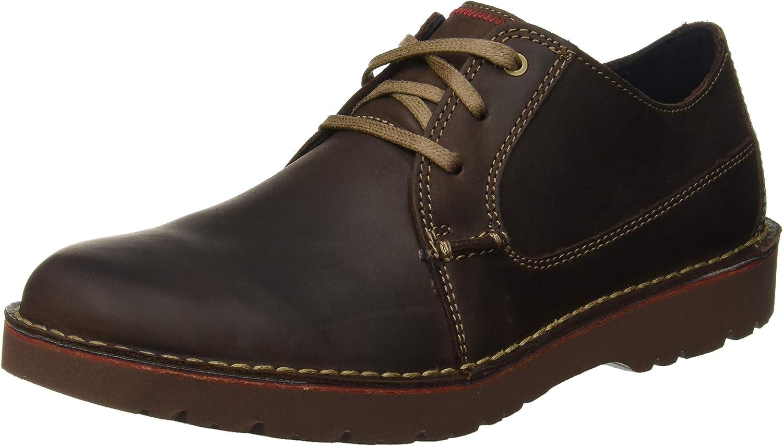 TALLA 42 EU. Clarks Vargo Plain, Zapatos de Cordones Derby para Hombre