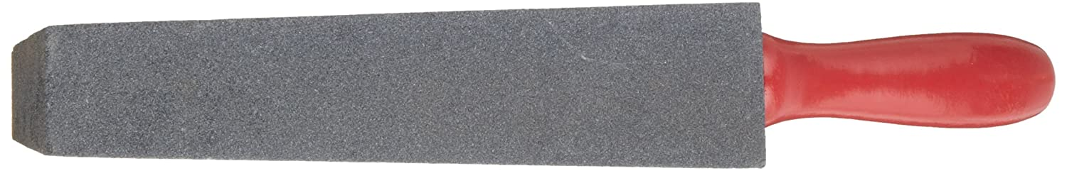 """Norton Utility File with Handle, Silicon Carbide, 14"""" Overall Length, Grit Coarse"""