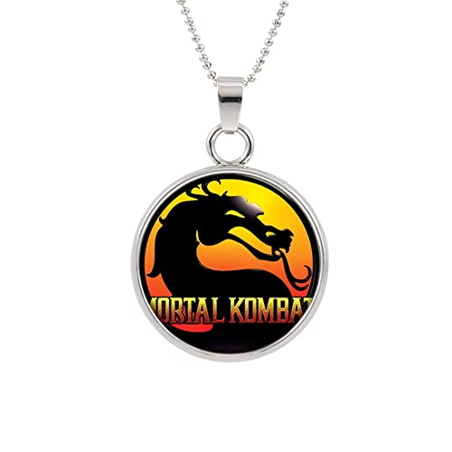 Amazon.com: Superhéroes marca mortal kombat logo collar ...