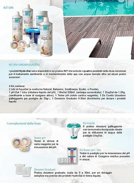 disysal sanificante a base de oxígeno activo (Pastillas de 20 gr - disysal 1, 2 kg. Ideal para cualquier tipo y marca de piscina, jacuzzi o hidromasaje ...