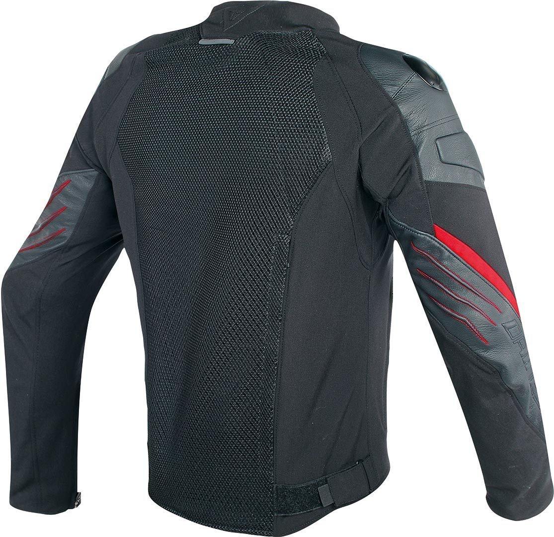 Amazon.com: Dainese Mig Leather-Textile Jacket (50) (BLACK/RED): Automotive