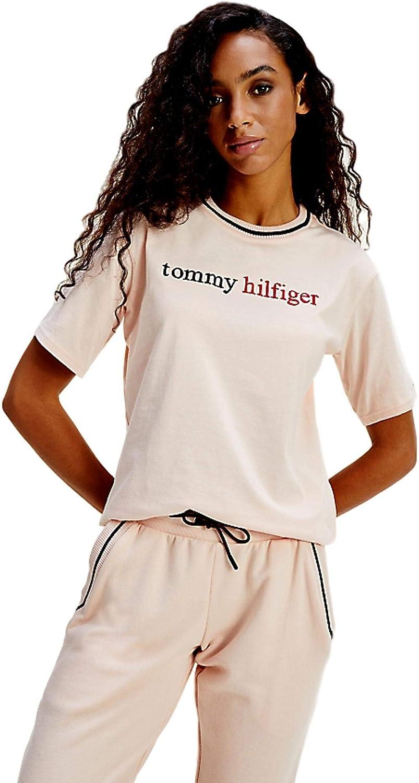 Tommy Hilfiger CN Tee SS Logo Top Pigiama Donna
