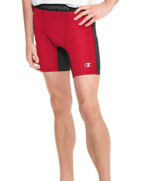 f245777312902 Image Unavailable. Image not available for. Color: Champion Men's Power Flex  Solid Compression Shorts ...