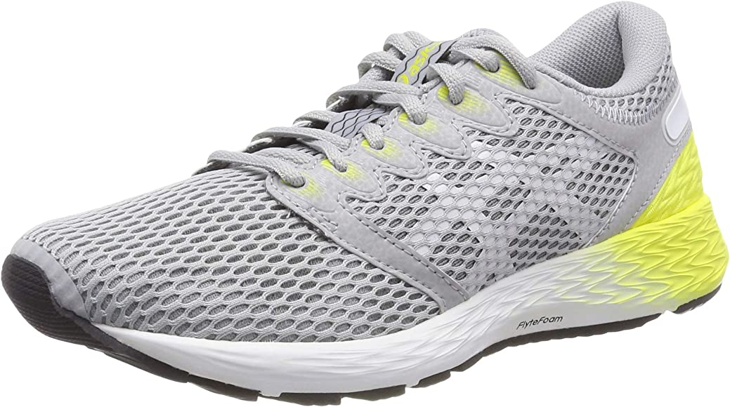 Asics Roadhawk FF 2, Zapatillas de Running para Mujer, Multicolor (Mid Grey/White 021), 37 EU: Amazon.es: Zapatos y complementos