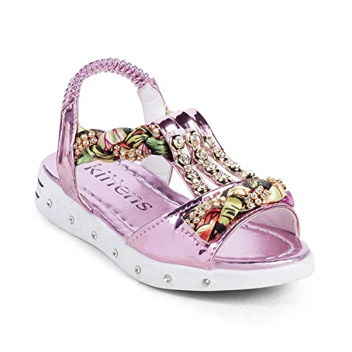 df6fa3452b8da KITTENS Girls Pink Sandals: Buy Online at Low Prices in India ...