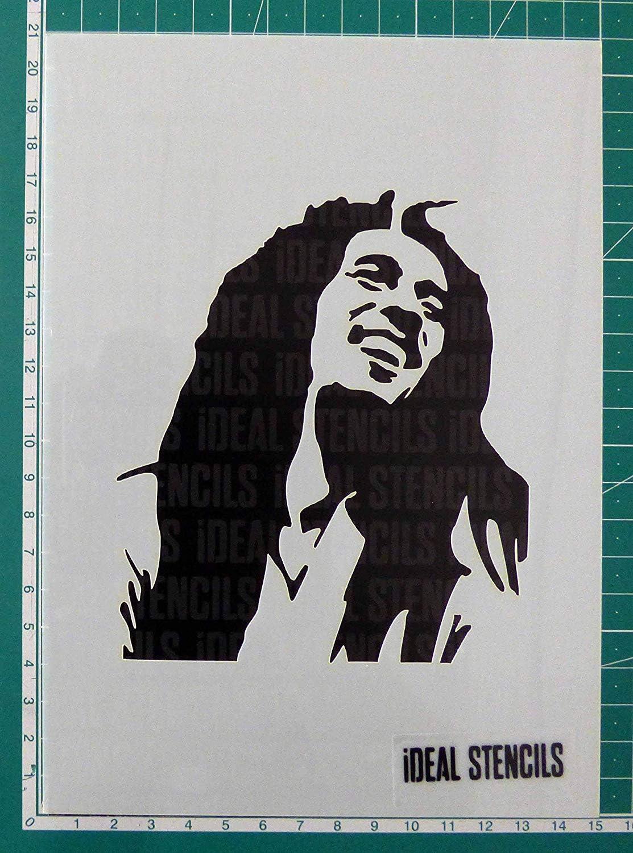 Meuble Et Plus Iconic Portrait Mural De Maison Decor Art Pochoir Fabrics Bob Marley Facade Pochoir Peinture Sur Mesure Produits Et Ajouter Peint Finition A Murs Pochoirs Bricolage