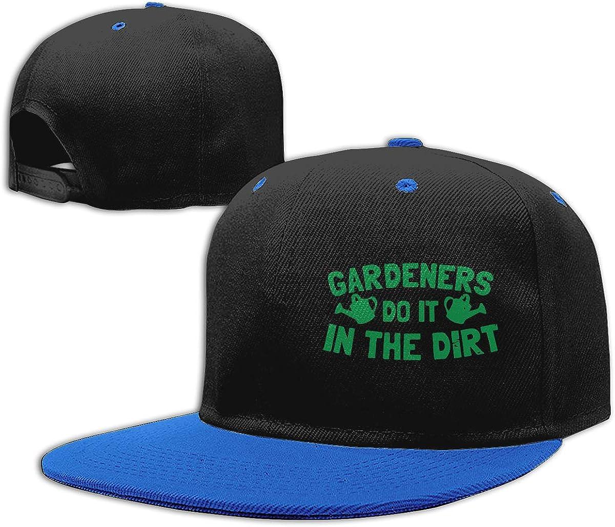 Do It in The Dirt Adults Flat Bill Baseball Caps Women Men Punk Rock Cap