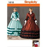 Simplicity 1818 Misses Costume Sewing Pattern, Size KK (8-10-12-14)