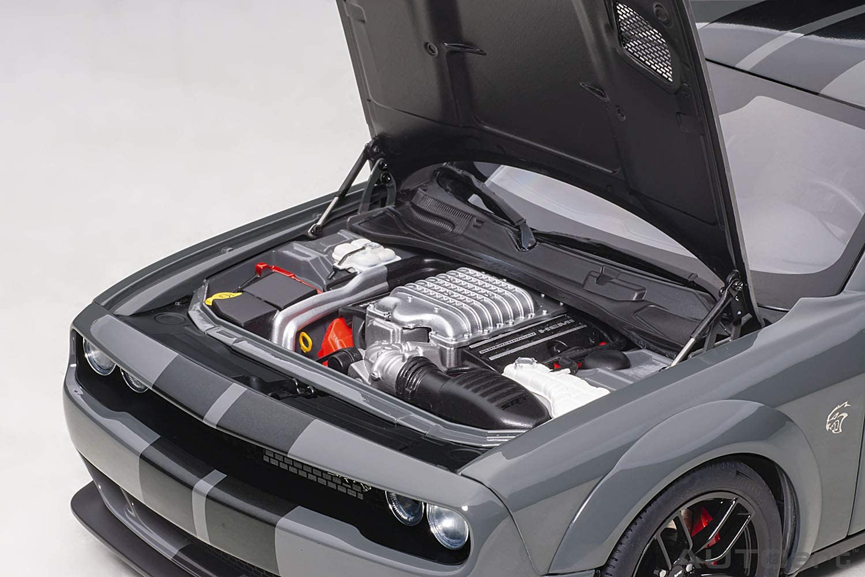 Toys & Games Dodge Challenger SRT Hellcat Widebody Destroyer Gray ...