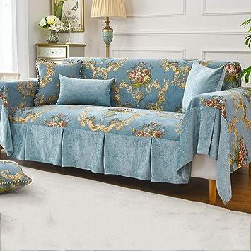 Surprising European Luxury Sofa Couch Cover Chenille Jacquard Couch Uwap Interior Chair Design Uwaporg