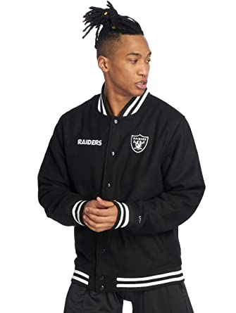sale retailer 8ec1f f1460 New Era Men Bomber Jackets NFL Team Oakland Raiders: Amazon ...