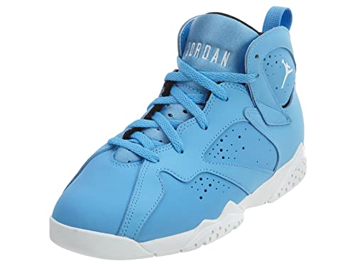 cca46bd515bb Jordan Retro 7 quot Pantone University Blue White-White (Little Kid) (
