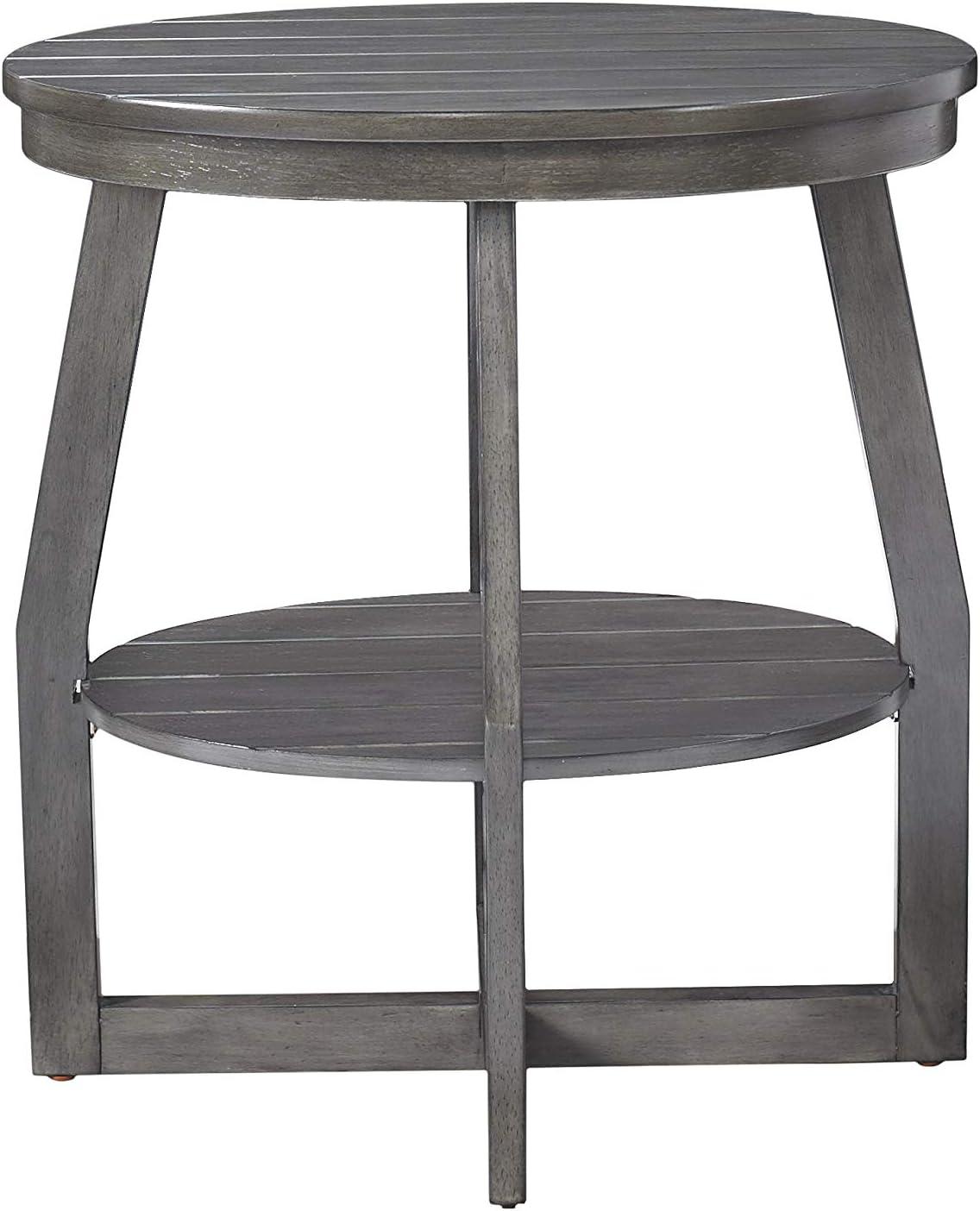 - Amazon.com: Powell Company Powell Pruitt Grey Accent Table, Gray
