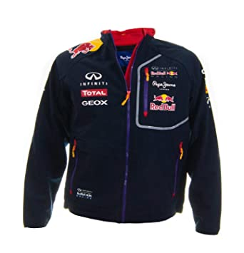 Veste softshell homme red bull racing navy