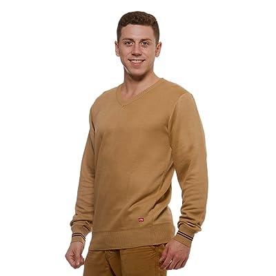 Ecko Unltd. Mens V-Neck Long Sleeve Sweater: Clothing