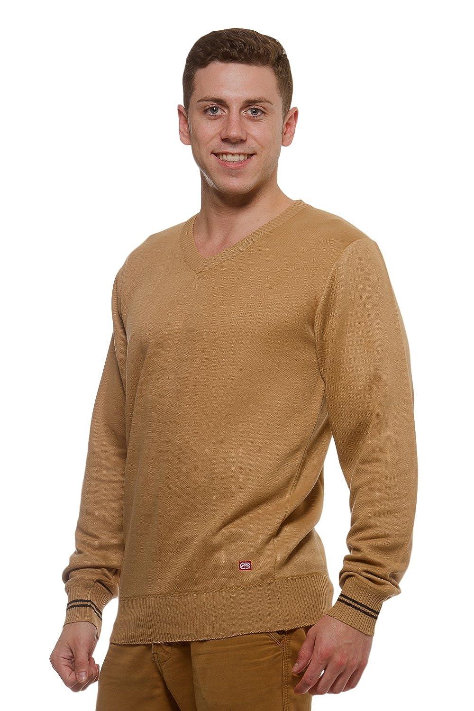 Ecko Unltd. Mens V-Neck Long Sleeve Sweater