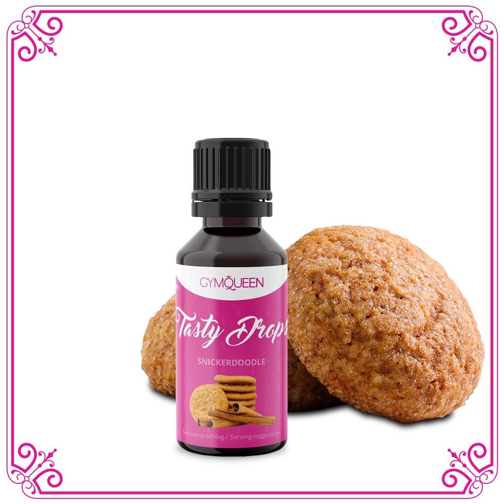 Flav Drops sin azúcar y calorías - Saborizante con sucralosa - Edulcorante aromatizado líquido - GymQueen Tasty Drops - Producto Alemán - Botella de fácil ...