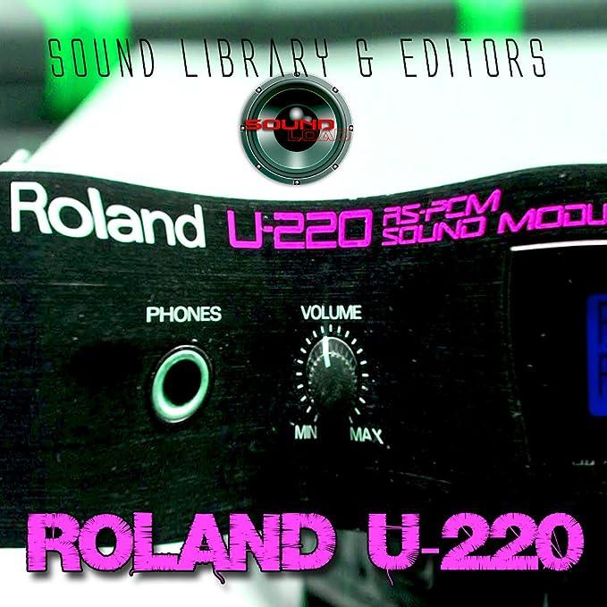 Para Roland U-220 enorme cartucho Original de fábrica nueva biblioteca de sonido creado y editores en CD: Amazon.es: Instrumentos musicales