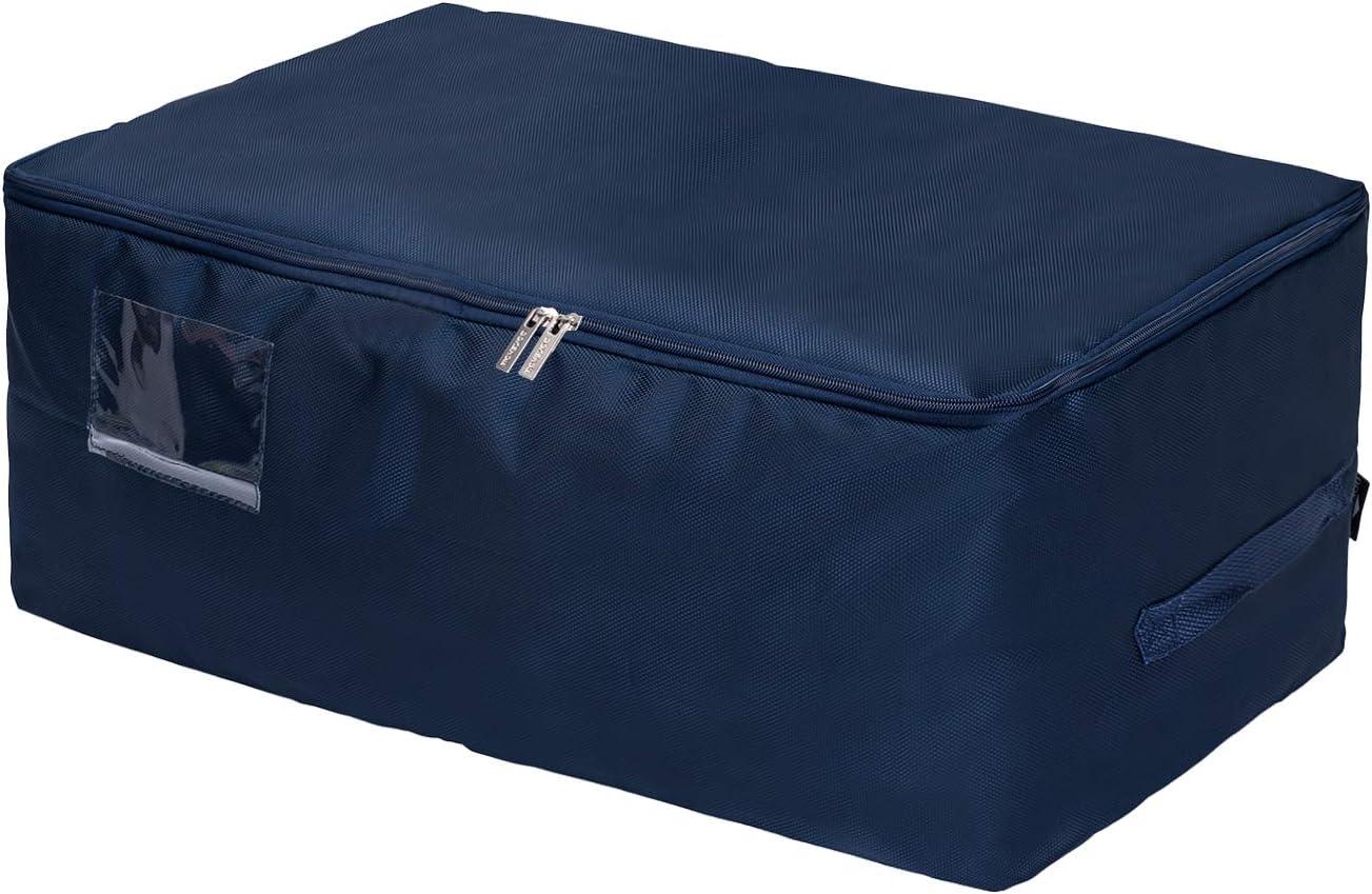 Sac de Voyage DOKEHOM Sacs pour v/êtements 5 Couleurs Bleu, L /étanche /épais surdimensionn/ée Organiseur Sac de rangement