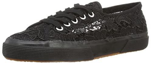 SUPERGA 2750 MACRAMEW Scarpe in TOTALMENTE NERO 996