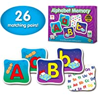 The Learning Journey: Match It! Memory - Alphabet - Capital and Lowercase Letter Matching Game with 26 Matching Pairs