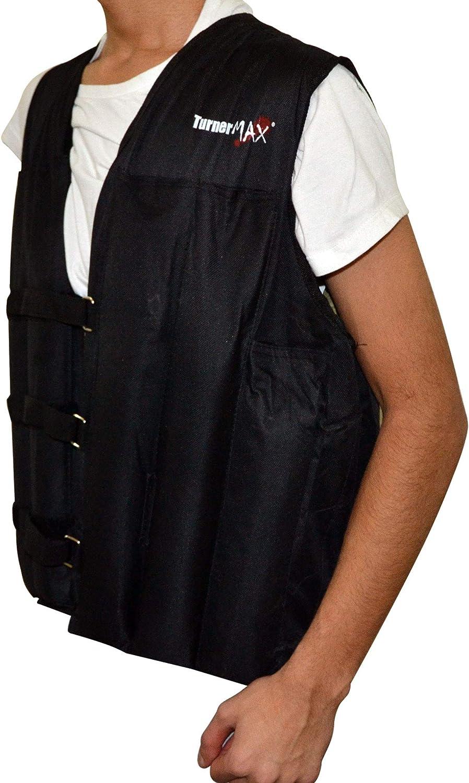 TurnerMAX Weight Vest Adjustable Weighted Vest Gym Training Running Workout