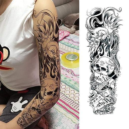 3pcs de Transferencia de Pegatinas de Flores Tatuaje del Brazo de ...