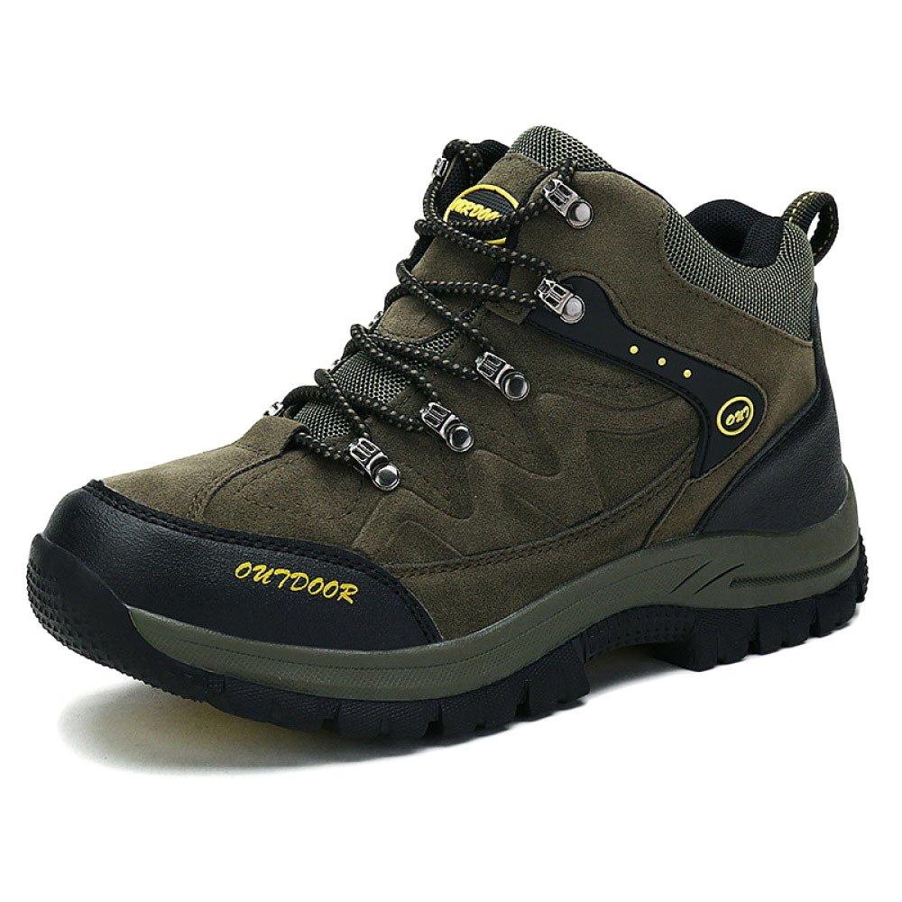 Herren Wanderschuhe Hoch Oben Trekking Schuhe Im Freien Wasserdichte Anti-Rutsch-Gehen Klettern Turnschuhe