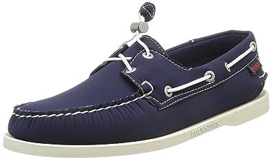 exklusiva skor stabil kvalitet specialavsnitt Sebago DOCKSIDES Men's Boat Shoes, Blue (NAVY neoprene), 6.5 UK(40 ...