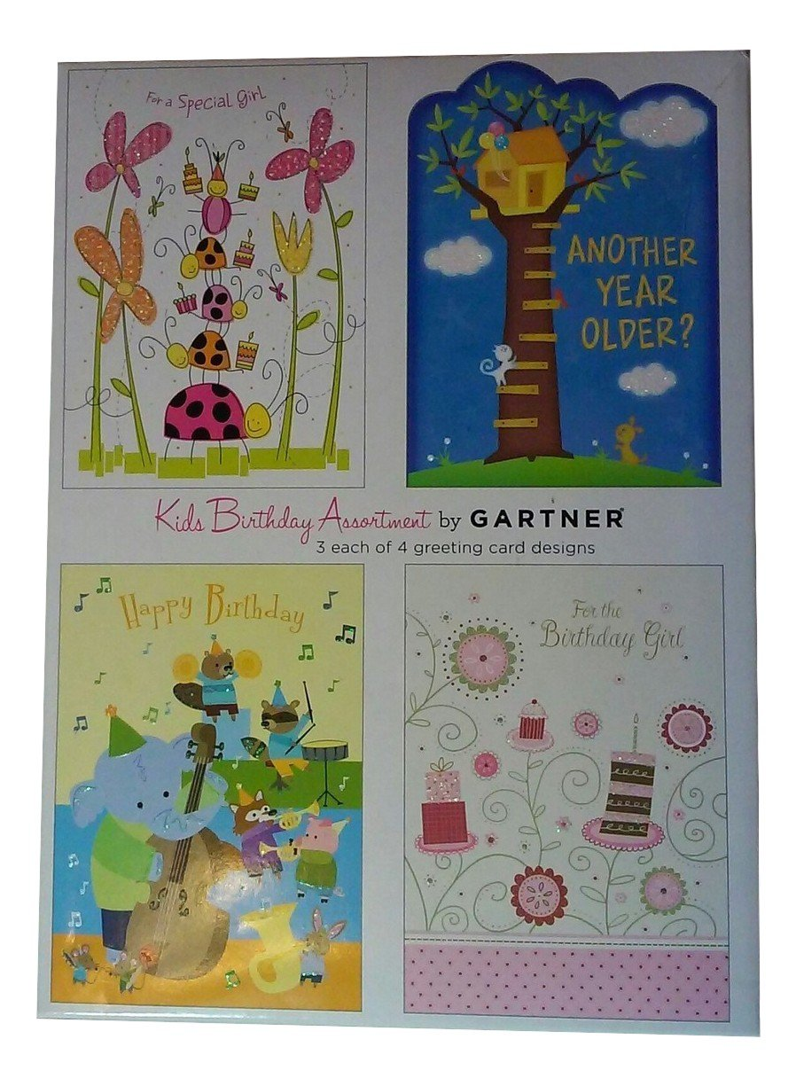Amazon Gartner Studios Assortment Of Childrens Birthday Cards
