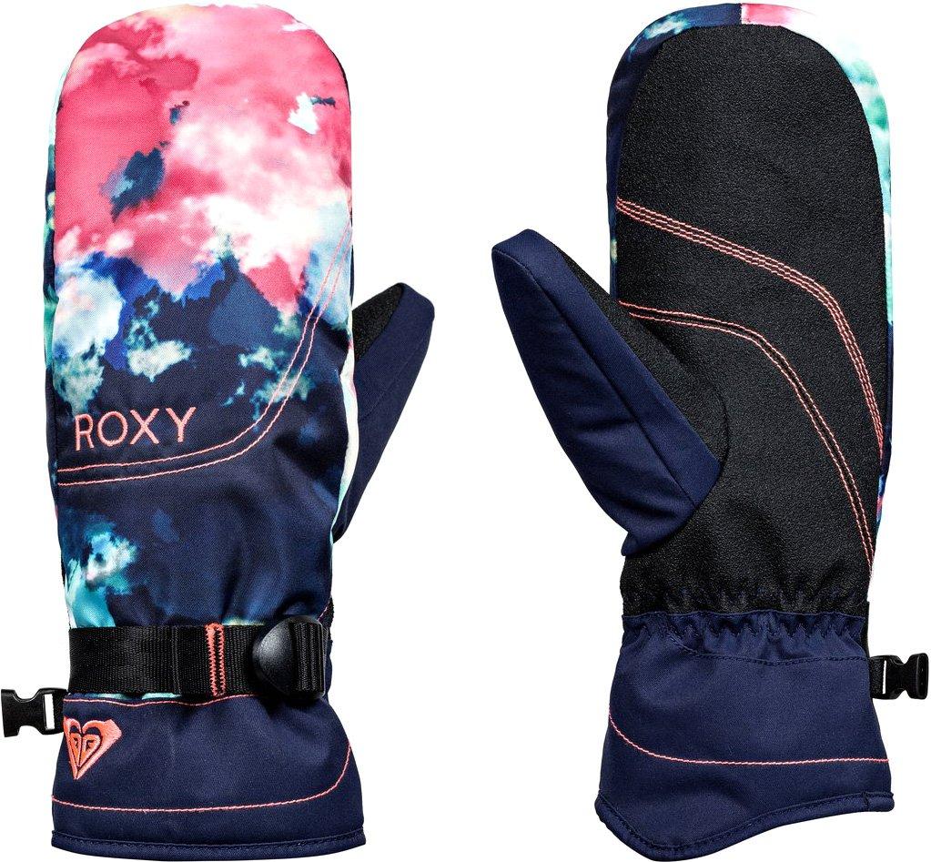 Roxy SNOW Junior's Roxy Jetty SE Mitt Gloves, Neon GRAPEFRUIT_CLOUD Nine, L