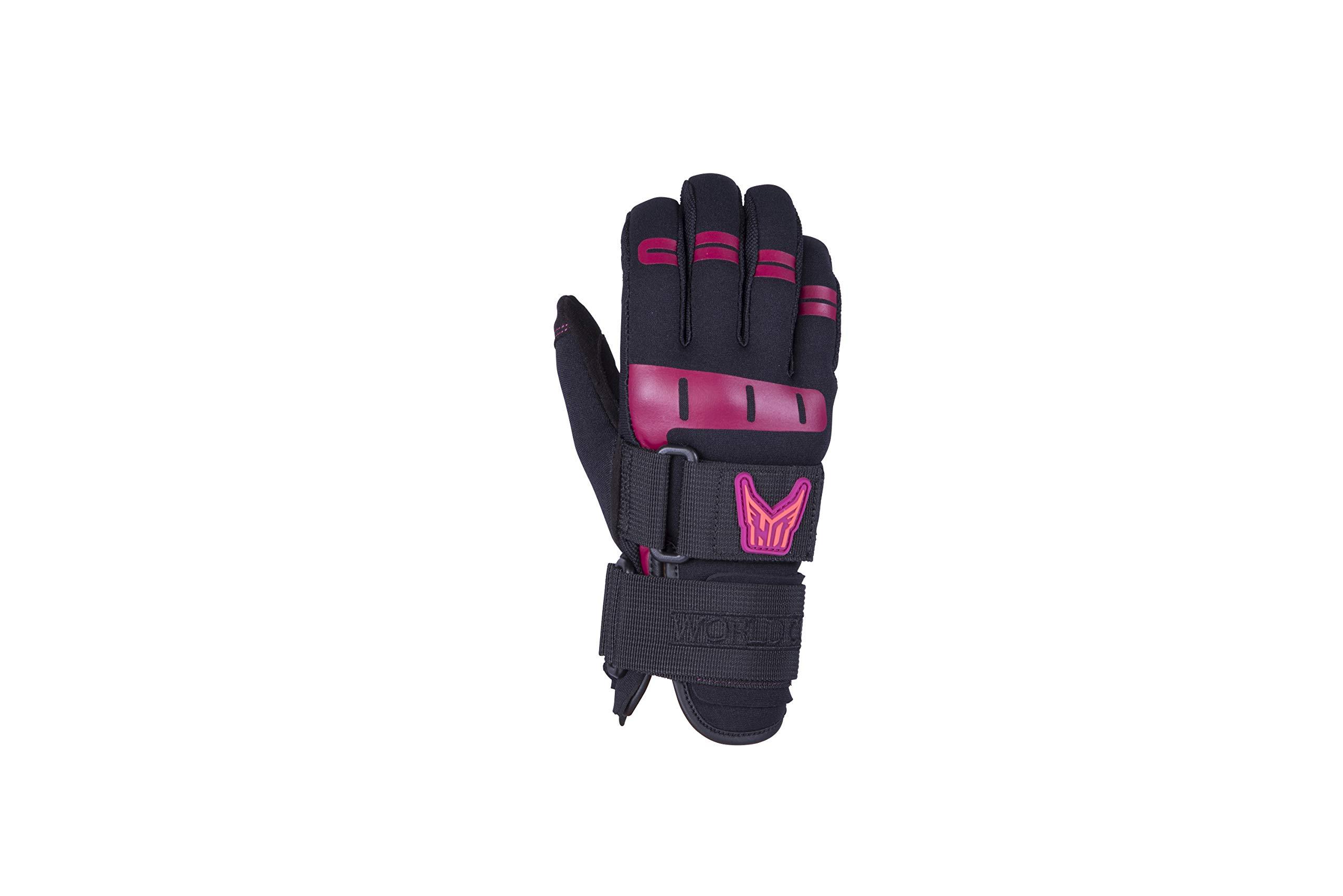 Ho Women's World Cup Waterski Gloves Black (S) by HO Sports