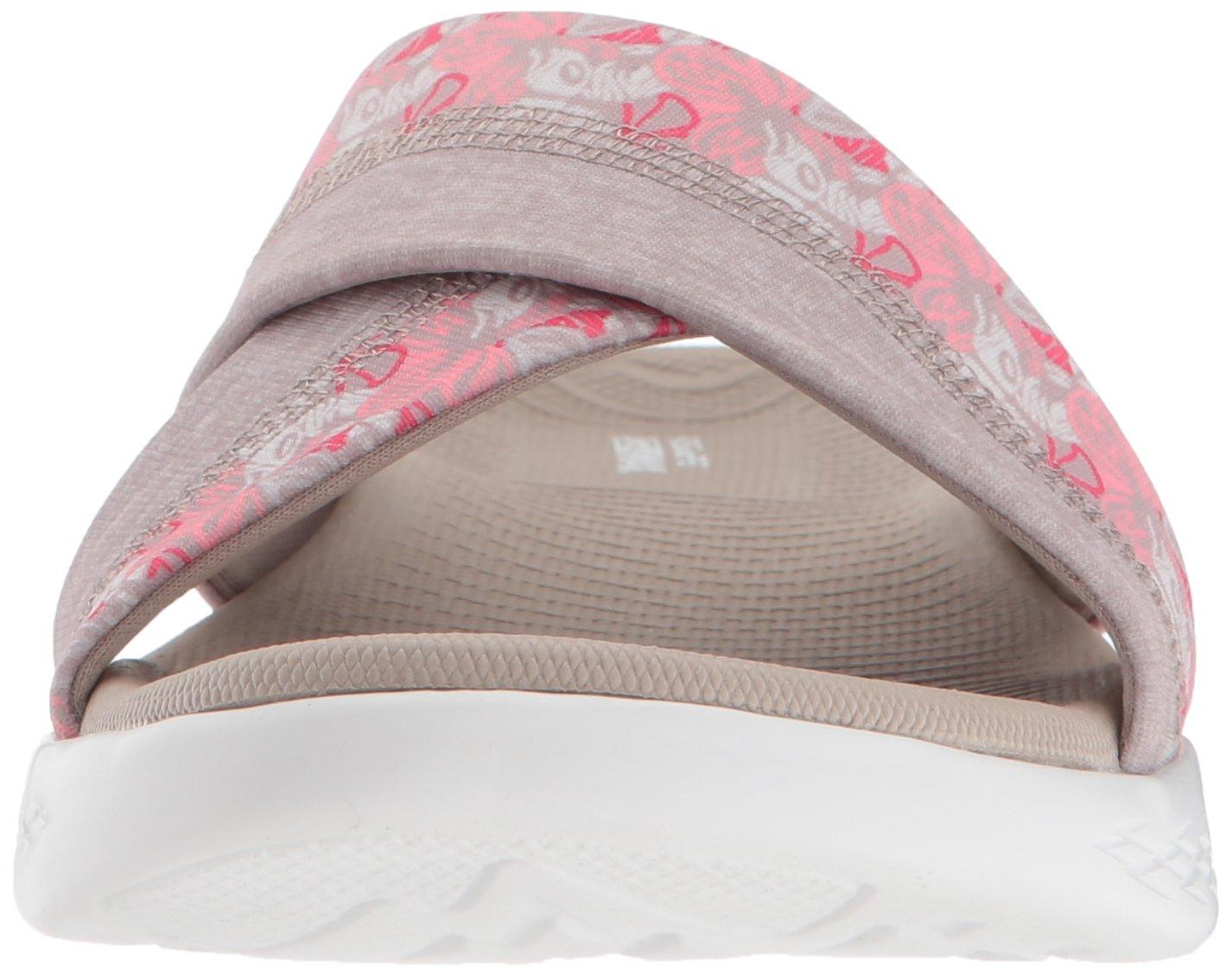 Skechers Women's on-The-Go 600-Monarch (W) Slide Sandal B07B5FDXDC 6 (W) 600-Monarch US|Taupe b993a0