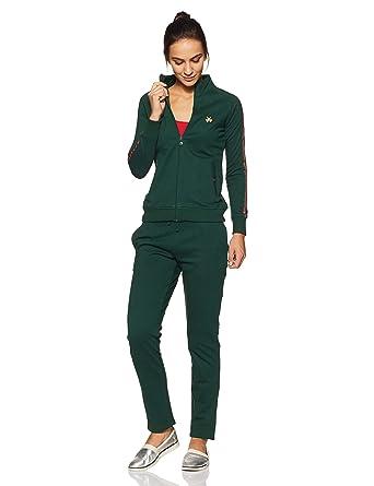 7e83b1c632 Madame M Secret Women's Nightdress (Pack of 2) (S8W30550 155_Bottle Green_S)