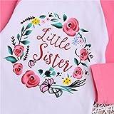 Newborn Baby Girls Clothes Little Big Sister