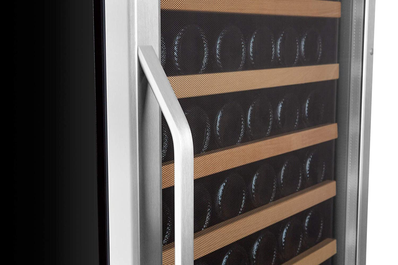 EdgeStar CWR1661SZ 166-Bottle EdgeStar Built-In Compressor Wine Refrigerator