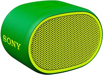 Sony SRS XB01 Compact Portable Water Resistant Wireless Bluetooth Speaker with Extra Bass Green