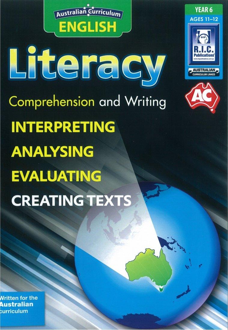 Download Australian Curriculum English Literacy Year 6 - NEW! pdf epub