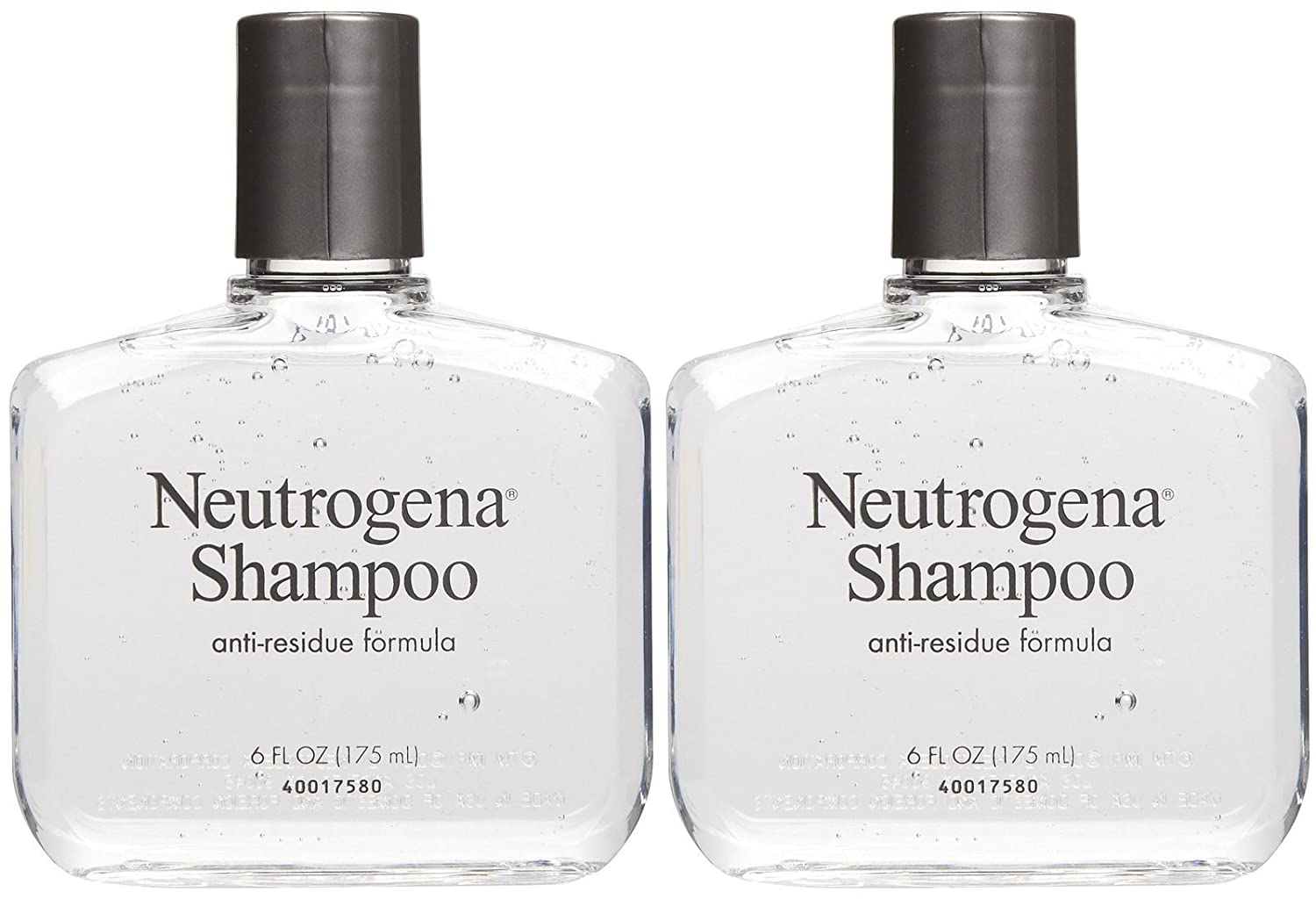 Amazon.com : Neutrogena Anti-Residue Shampoo, Gentle Non-Irritating Clarifying  Shampoo to Remove Hair Build-Up & Residue, 6 fl. oz (Pack of 2) : Beauty