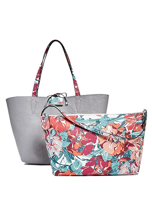 c13823f64969 GUESS Bobbi Floral Inside Out Tote  Amazon.ca  Sports   Outdoors