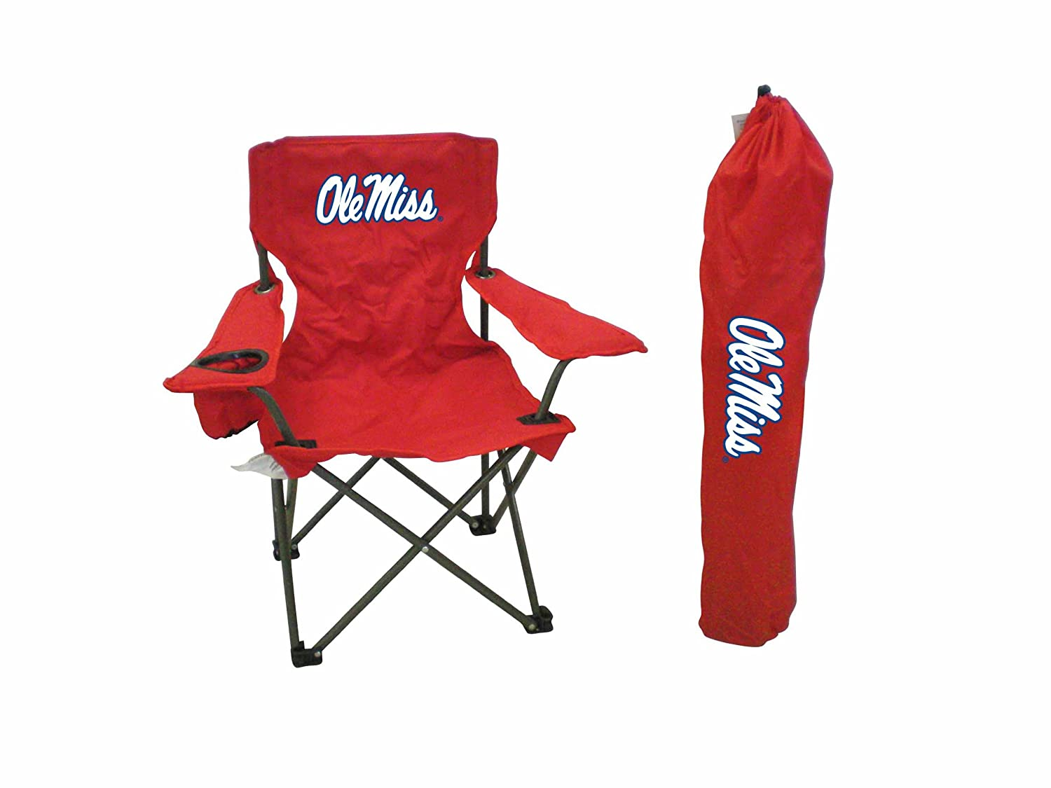 Rivalry NCAA Mississippi Rebels Youth Folding Chair With Carrying Case