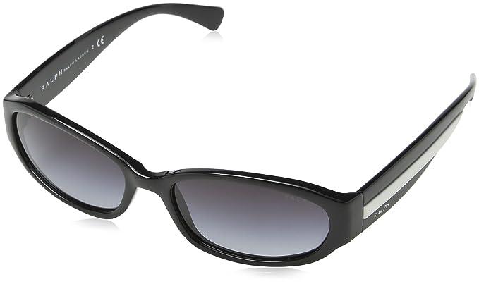 Ralph Lauren Polo 0Ra5163 501/11 55, Gafas de Sol para Mujer, Negro