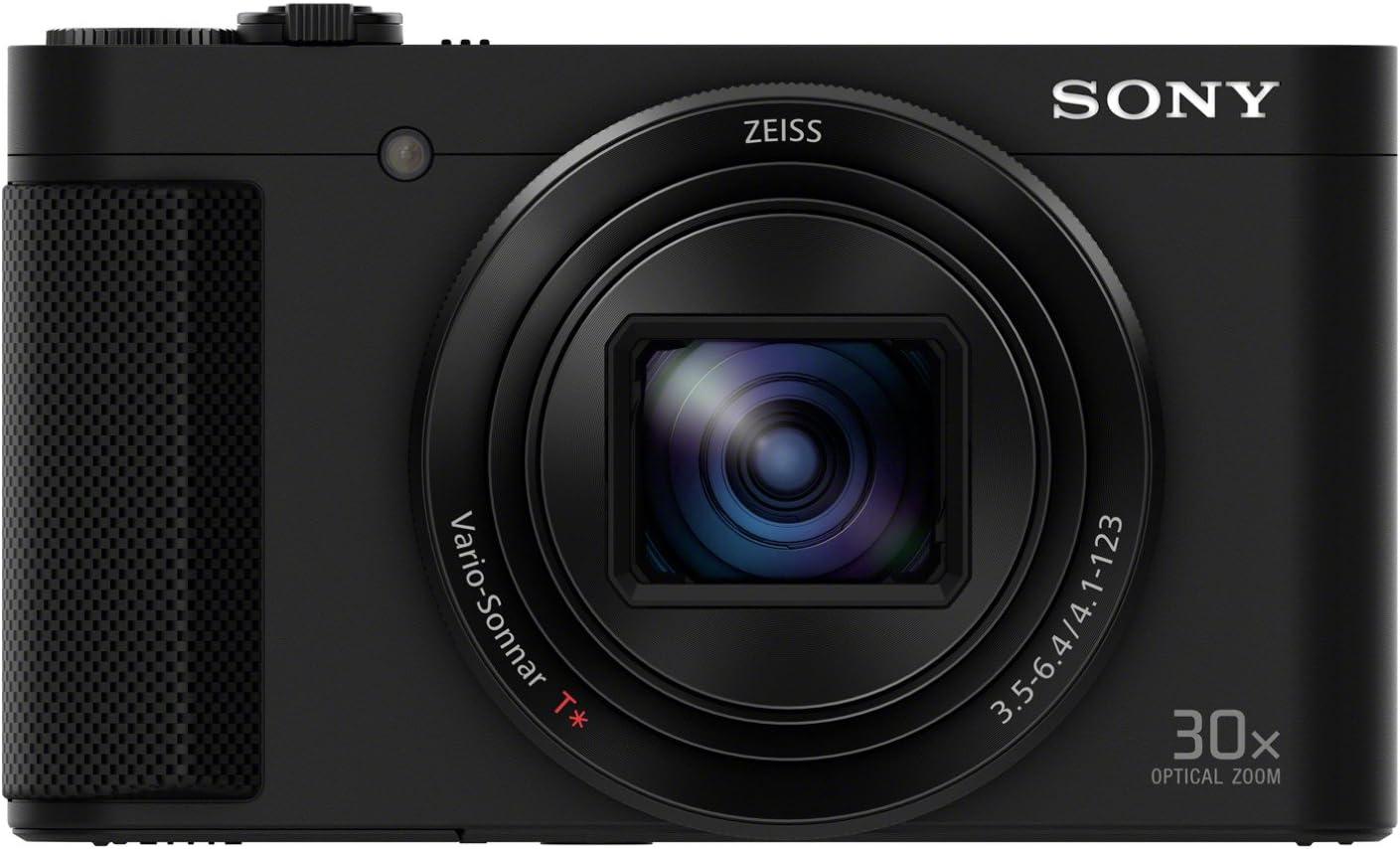 Sony DSC-HX90 Fotocamera Digitale Compatta Cyber-shot, Sensore CMOS Exmor R da 18,2 Megapixel, Zoom Ottico 30x, Nero
