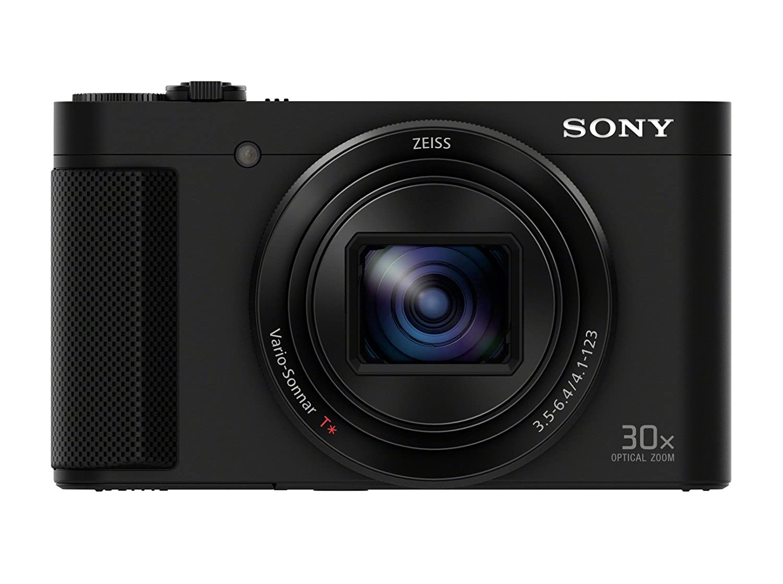 Sony DSC-HX90 Fotocamera Compatta con Sensore CMOS Exmor R, 18.2 Mp, Zoom Ottico 30X, Nero