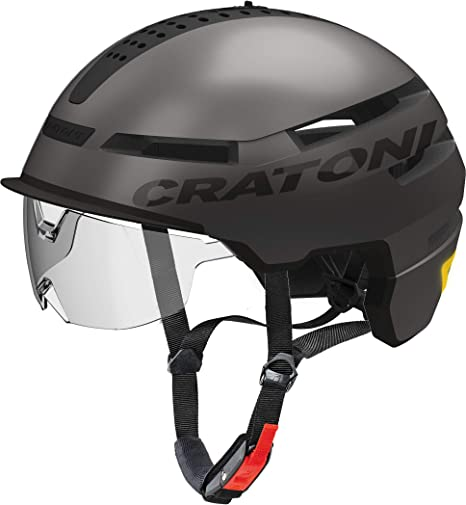 Cratoni Unisex - Casco de Bicicleta para Adultos Smartride ...