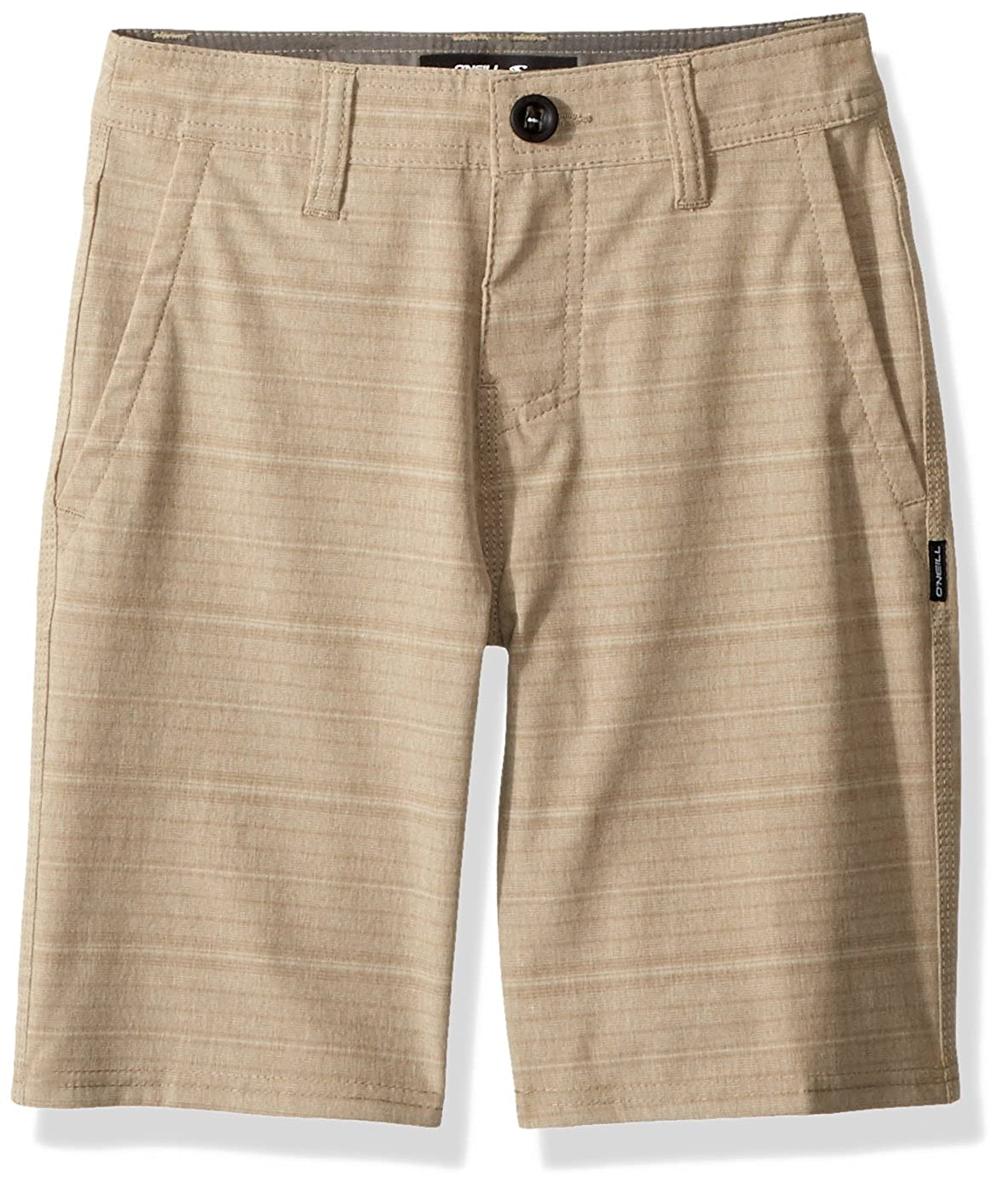 ONeill Boys Locked Stripe Hybrid Short
