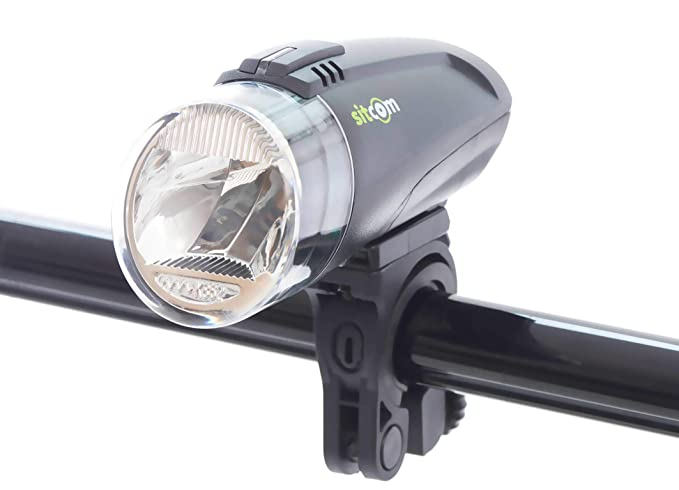Sitcom bicicletta lampada bicicletta bici lampada comet luce: amazon